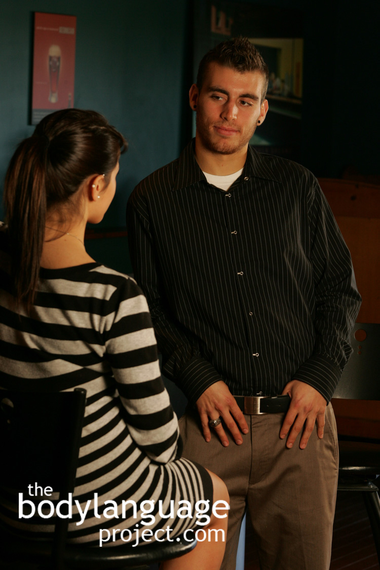 male body language dating Body language: signs of attraction  men's signs observing men's body language to  guys understand that they have to be more sensitive when in the dating .