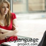 BodyLanguageProjectCom - Double Arm Hug Or Self Hugging 1