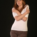 BodyLanguageProjectCom - Double Arm Hug Or Self Hugging 3