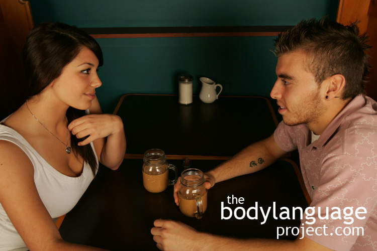 flirting man body language Women's body language is used to flirt and attract men flirting step 1 is all about getting attention to arouse interest in a prospective mate learn the first step in body languge flirting.