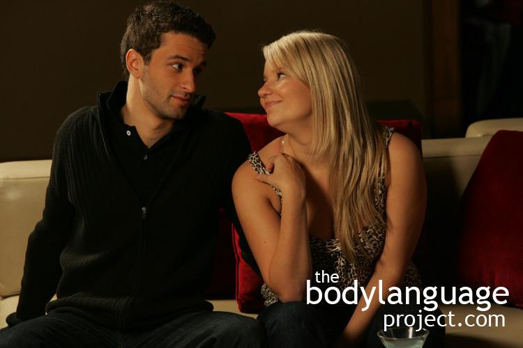 Female sexual body language signals