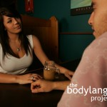 BodyLanguageProjectCom - Looking Up Through The Forehead Or The Looking Up Cluster 2